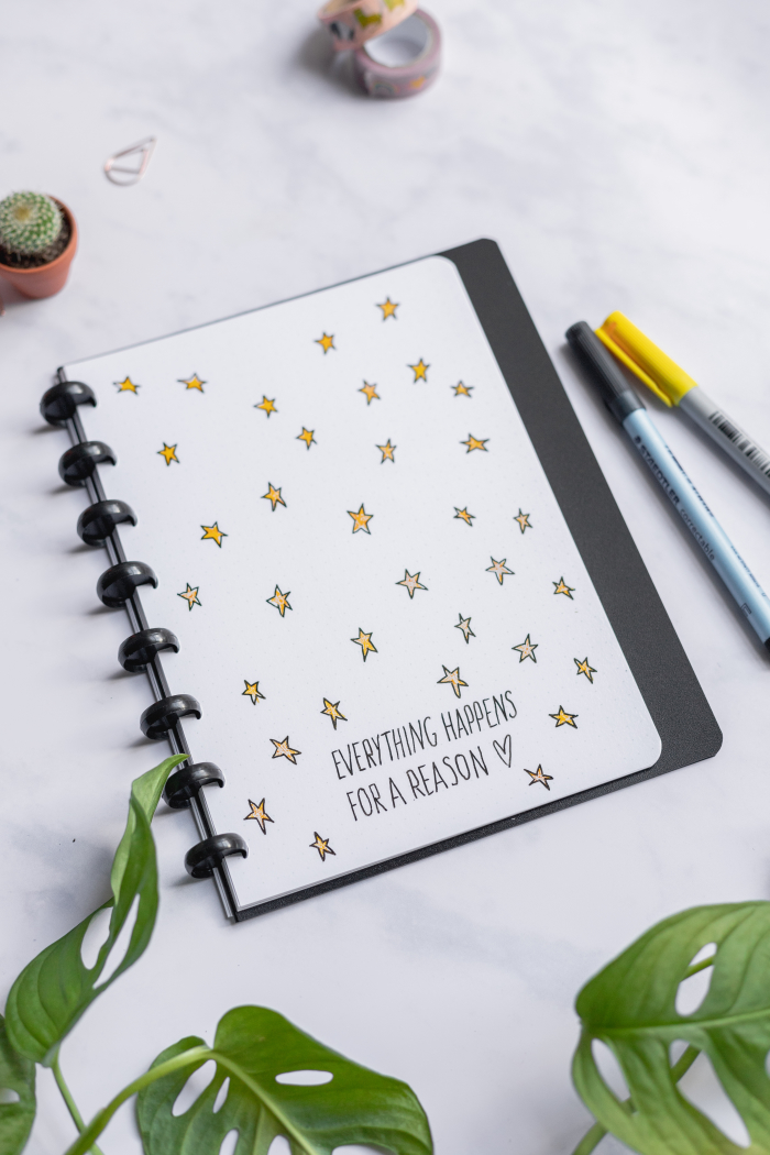 Reusable Asoki Planner with erasable dot grid page