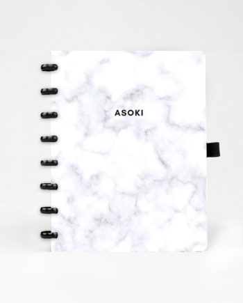 Erasable notebook and planner marble asoki Planner