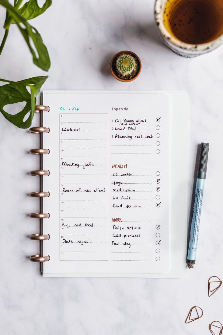 Erasable Asoki Planner with a daily planner and to-do-list