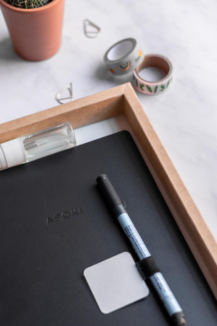 A5 reusable notebook softcover discbound