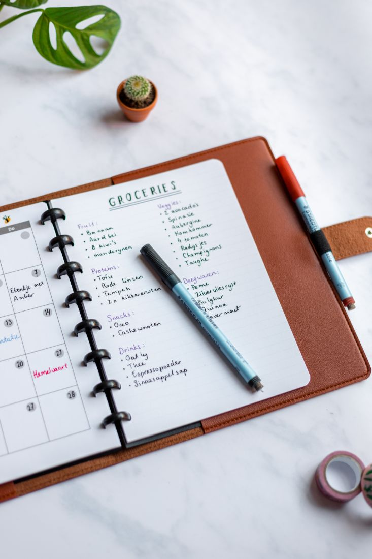 Protect your erasable Asoki Planner with a leather-free cover