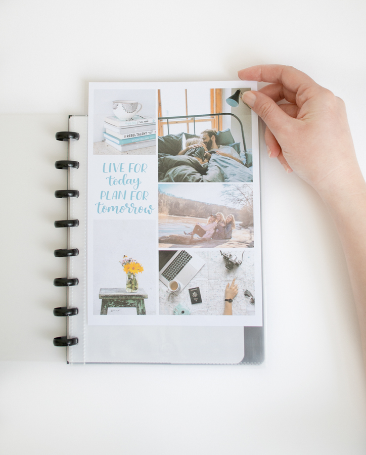 Personalised A5 erasable whiteboard notebook customise with your own pictures or artwork