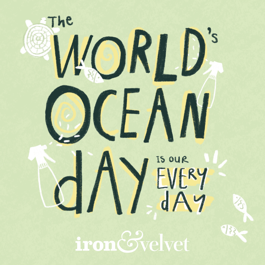 Zero waste cleaning products World Ocean Day