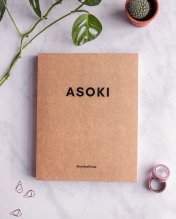 Cardboard-Box for the branded Asoki Planner
