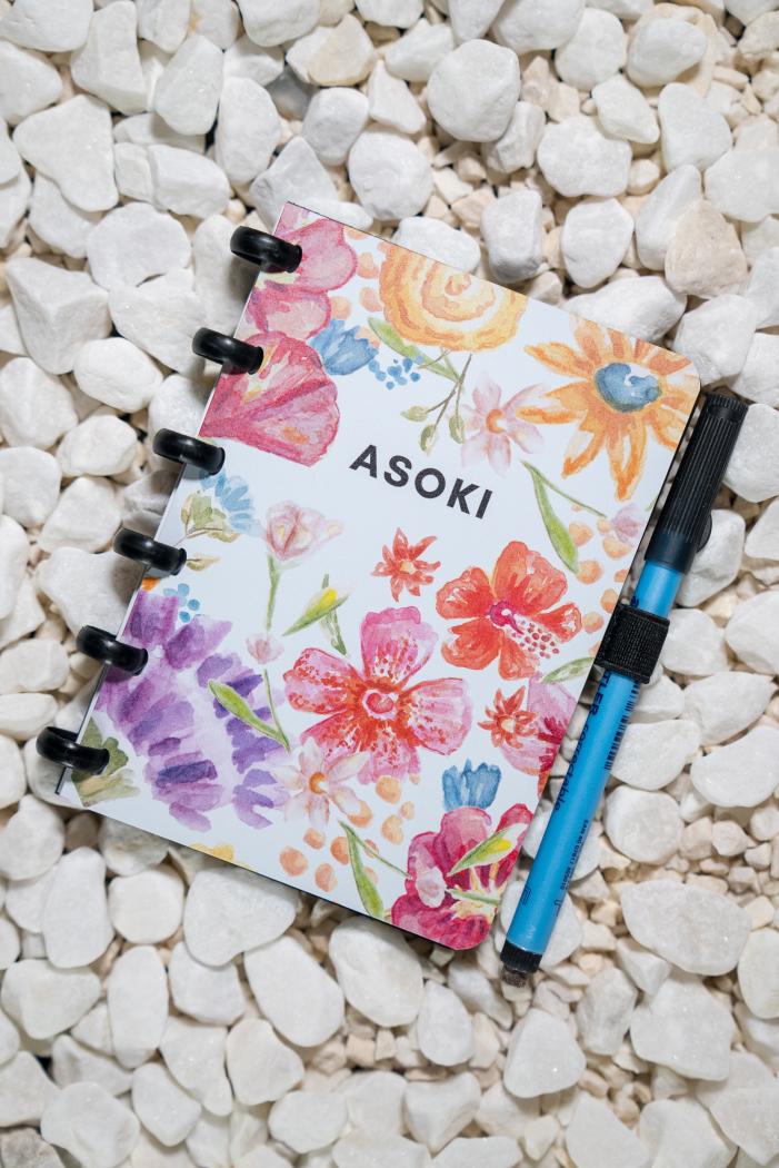 Erasable notebook A6 plain