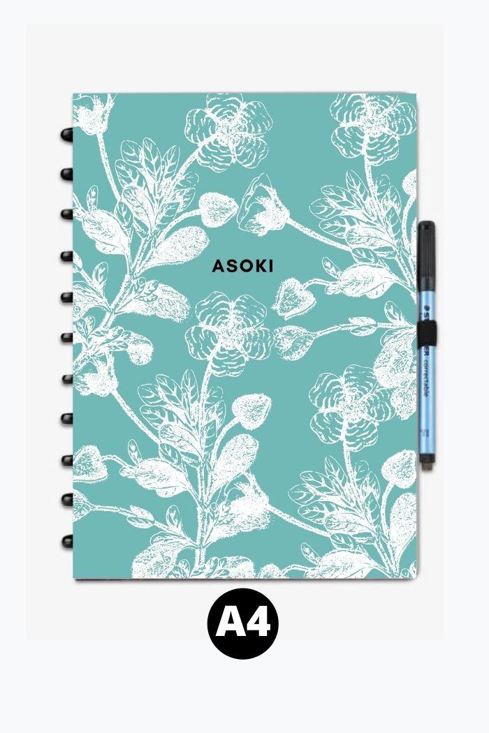 A4 reusable notebook asoki