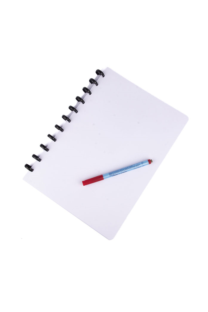 A4 reusable notebook erasable plain