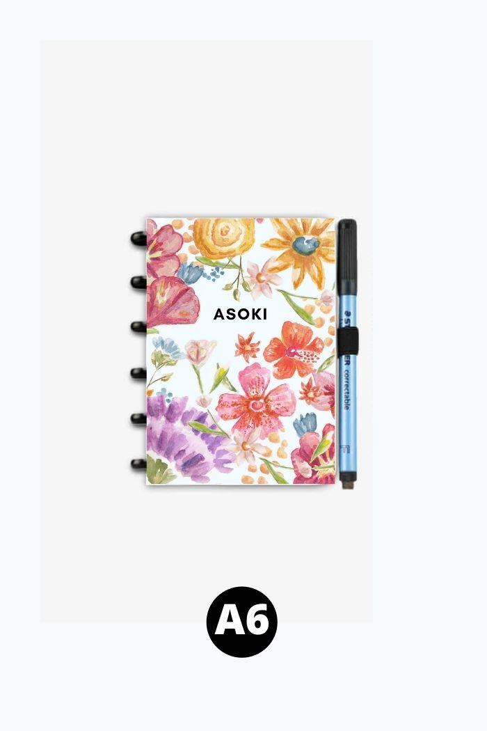 A6 reusable notebook