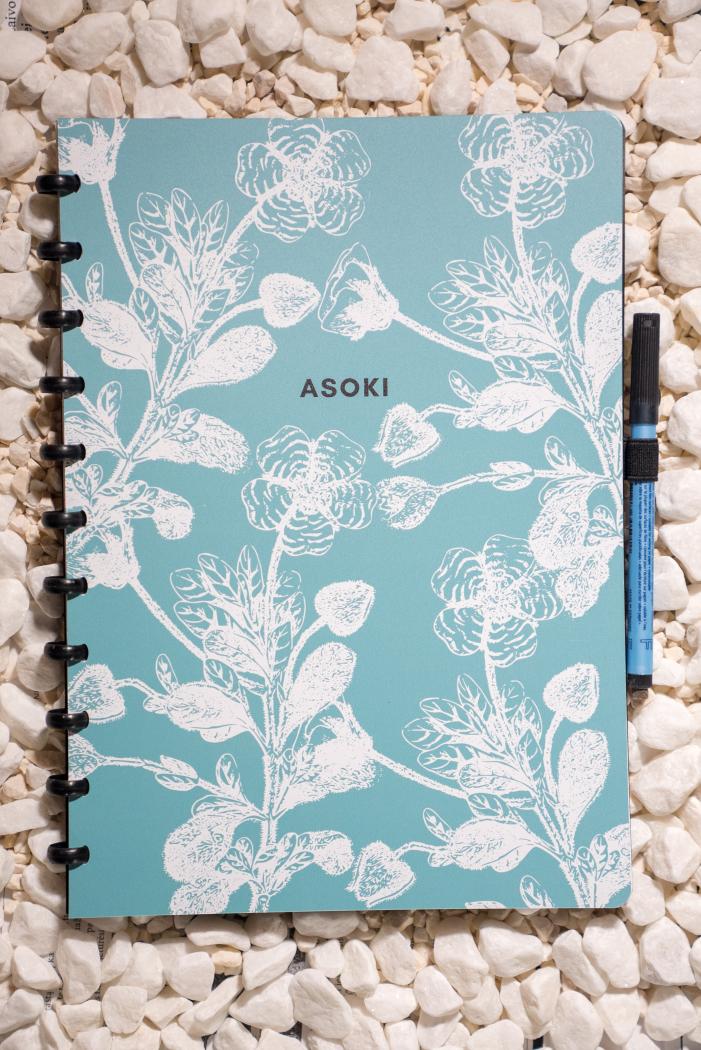 Erasable notebook A4