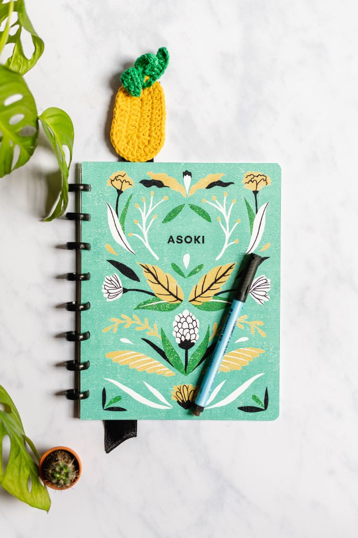 Bookmark for your erasable planner