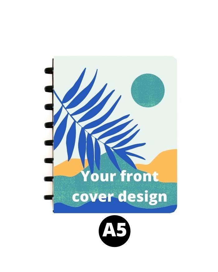 Custom printed erasable notebook A5 full cover design