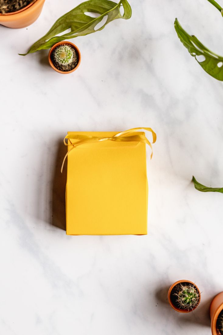 Gift bag for the zero waste soap set