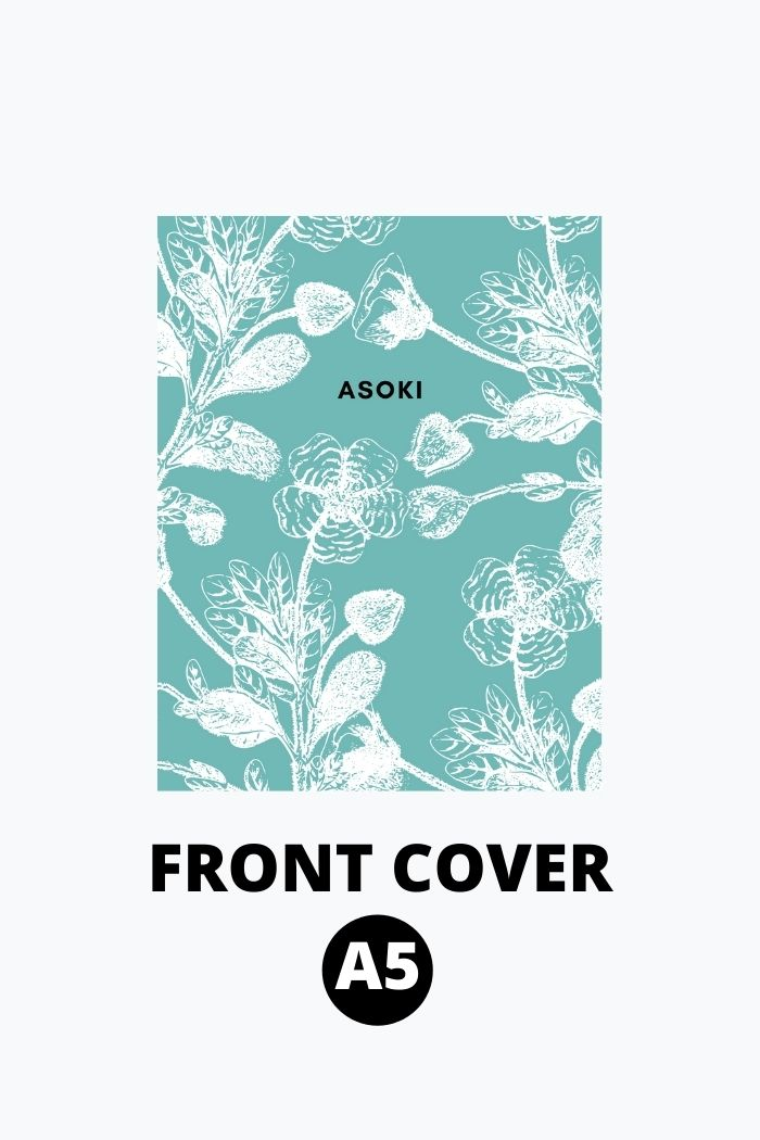 A5 front cover Asoki Planner clickable
