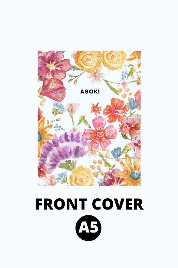 A5 front cover Asoki Planner