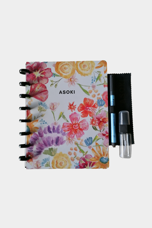 Asoki Planner cover A5 floral