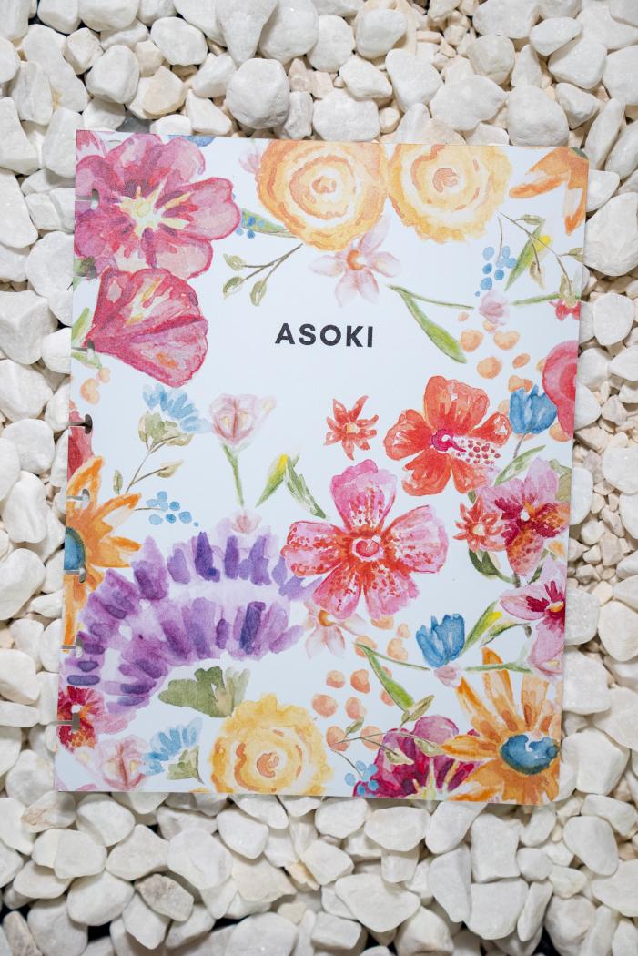 Erasable notebook cover clickable
