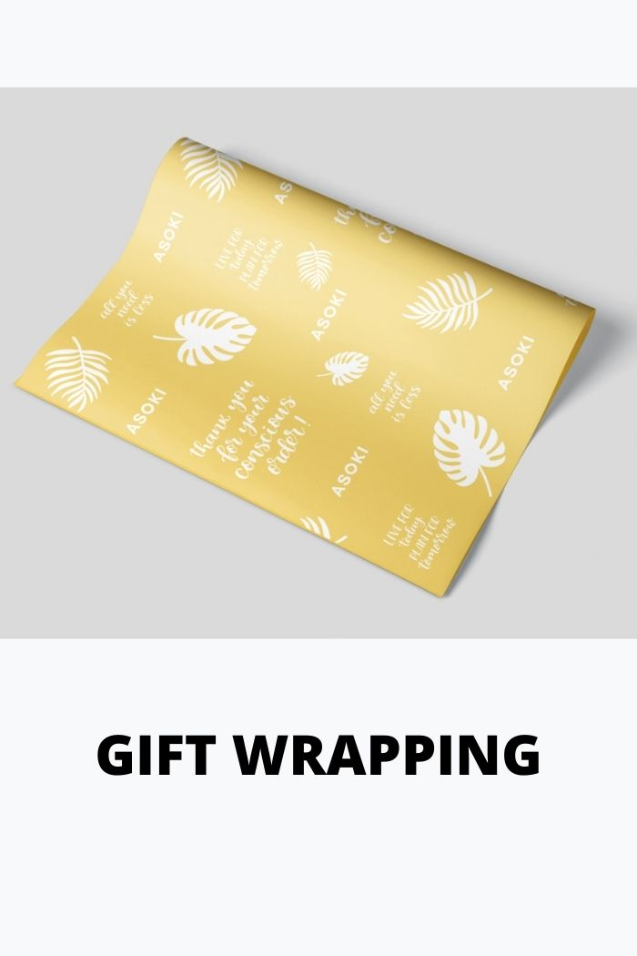 gift wrapping of custom notebooks